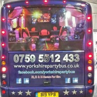 Yorkshire Party Bus