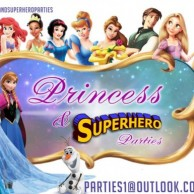 Princess and Superhero Parties