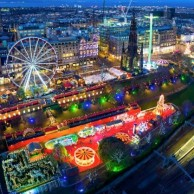 Edinburghs Christmas Market - Santa Land