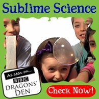 Sublime Science Party - Dragons Den Winnning